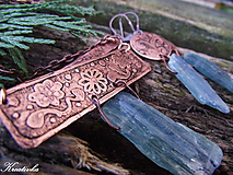 Sady šperkov - Dotyk túžby.......sada (surový kyanit) - 10446135_