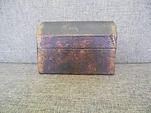 Krabičky - kartónová šperkovnica maľovaná - 10446253_