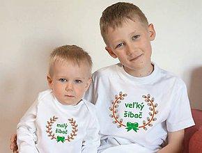 Detské oblečenie - tričko a body pre šibačov - 10447481_