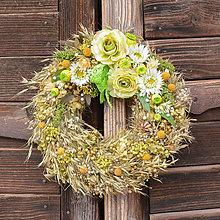 Dekorácie - Prírodný veniec na dvere - 10447978_