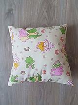 Úžitkový textil - Veselé zvieratká - nahroevací bylinkový vankúšik - 10446467_
