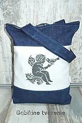 Veľké tašky - Taška vyšívaná - 10448184_