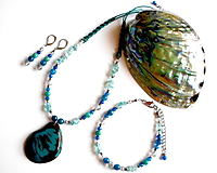 Sady šperkov - Tagua laguna - 10447728_