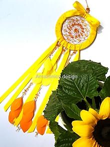 Dekorácie - Lapač snů - Manipura - 10447796_
