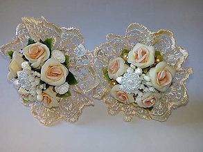Darčeky pre svadobčanov - miniarúrne kytičky - 10446907_