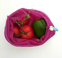 Iné tašky - Nákupné vrecko (Ružová) - 10446396_