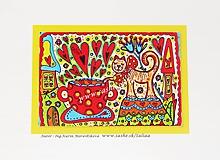 Kresby - ŠÁLKA MLIEKA - klasická pohľadnica - 10445401_