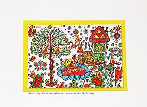 Papiernictvo - VTÁČIKY - klasická pohľadnica - 10448738_
