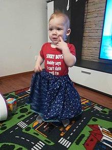 Detské oblečenie - Suknička MAJKA - 10448845_