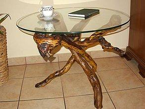 Nábytok - konferenčný stolík - 10448244_