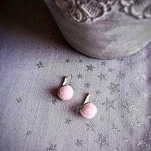 Náušnice - Náušničky z cukrovej vaty - 10447748_
