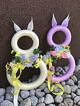 Dekorácie - Veľkonočný zajačik - 10446370_