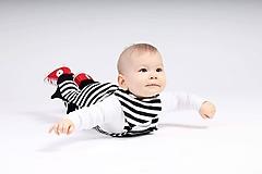 Detské oblečenie - Rastúce trakové tepláky Dino - 10445962_