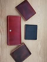 Peňaženky - Peňaženky s kože - 10446468_