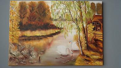 Obrazy - Spolu na rieke - 10445424_