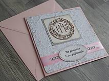 Papiernictvo - ...pohľadnica k 1. sv. prijímaniu... - 10448850_