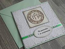 Papiernictvo - ...pohľadnica k 1. sv. prijímaniu - 10448855_