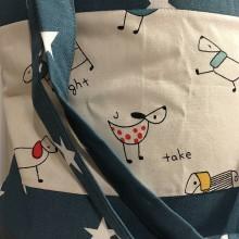 Nákupné tašky - Taška - psíky - 10448499_