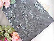 Papiernictvo - Vintage šanón ... - 10445721_
