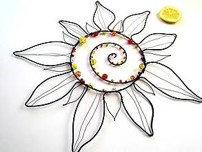Dekorácie - Veľké slnko*29 cm - 10445593_