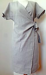 Šaty - Zavinovacie šaty - 10447270_