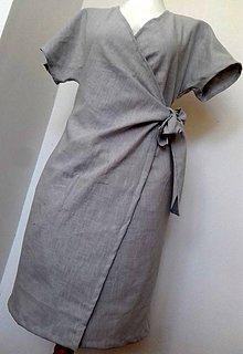 Šaty - Zavinovacie šaty - 10447265_