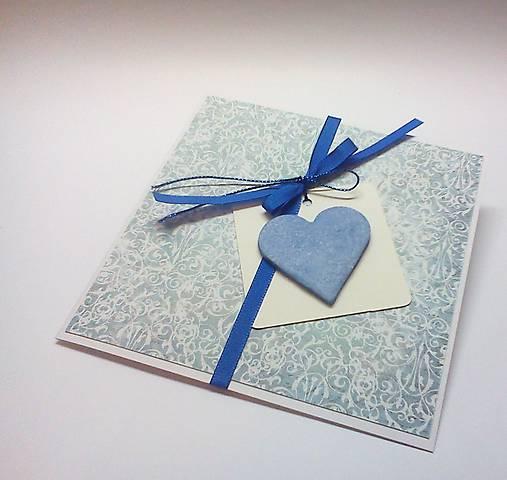 Pohľadnica ... v modrom