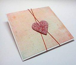 Papiernictvo - Pohľadnica ... pocukrovaná láska - 10451605_