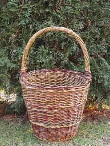 Košíky - Košík s rúčkou - 10451928_