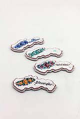 Magnetky - Veľká magnetka  SLOVENSKO - 10449770_