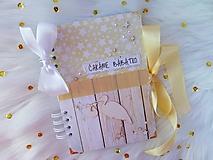 Papiernictvo - Tehotenský denník *SKLADOM* - 10449988_