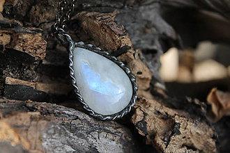 Náhrdelníky - Mesačný kameň - 10451838_