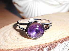 Prstene - anel com ametista - 10451656_