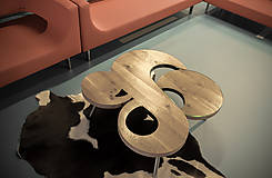 Nábytok - konferenčný stolík ⌘Venus - 10449676_