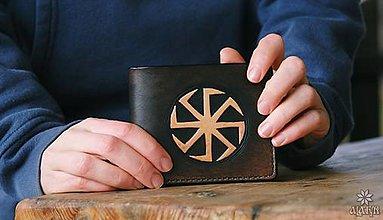 Tašky - Kožená peňaženka VI. Kolovrat - 10449197  f54e90d2928
