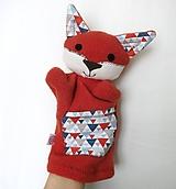 Maňuška líška - Lišiačik z Trianglového lesa.