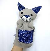 - Maňuška mačka - Kocúrik z Polnočného lesa - 10449187_