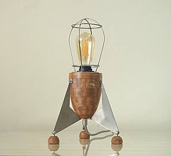 Svietidlá a sviečky - Stolná lampa RAKETA - 10452166_