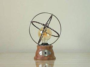 Svietidlá a sviečky - Stolná lampa SFÉRY - 10452201_