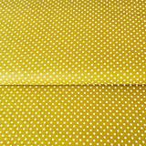 - bodky, 100 % bavlna Francúzsko, šírka 140 cm (Žltá) - 10450214_