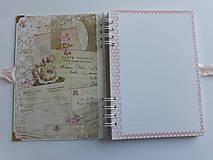 Papiernictvo - Zápisník - možnosť personalizovať - 10449424_