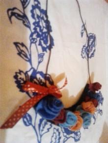 Náhrdelníky - náhrdelník plní ruží - 10451519_