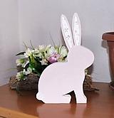 """Dekorácie - veľkonočný zajko """"romantický"""" III - 10450341_"""