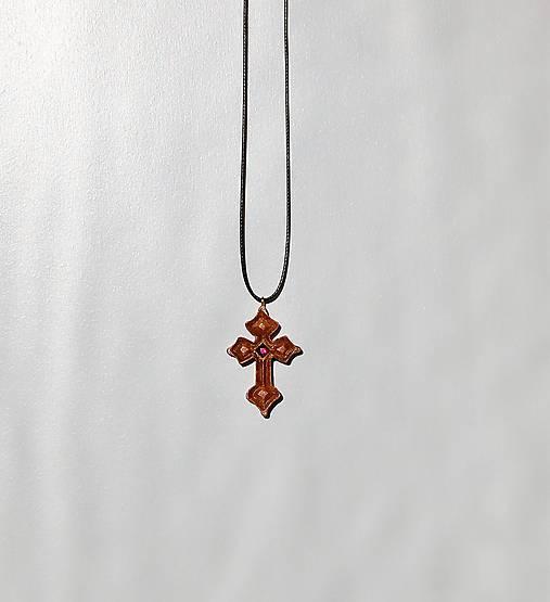 592ec1157 Drevený náhrdelník - Krížik 2 / DREWART - SAShE.sk - Handmade ...