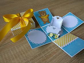 Papiernictvo - Exploding box pre chlapca - 10451969_