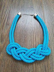 Náhrdelníky - Nekonečný náhrdelník  (Tyrkysová) - 10450777_