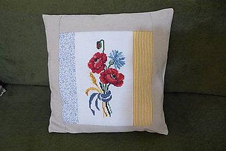 Úžitkový textil - návlečka na vankúš - 10448909_