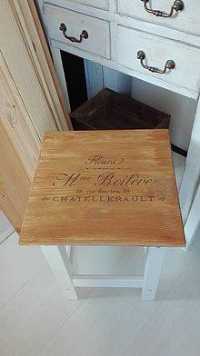 Nábytok - Francúzsky stolček - 10449881_
