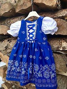 Detské oblečenie - Detské folklórne šaty Johanka - 10451683_