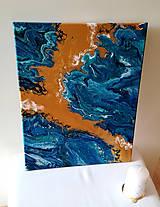 Obrazy - Láva v rozbúrenom mori - 10449126_